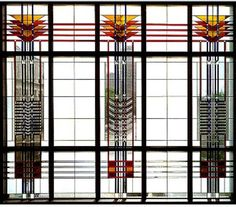 frank Lloyd wright - stained glass