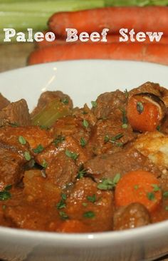 Paleo Beef Stew #Recipe with Certified Angus Beef® #RecipeRehab #beef #sponsored by @iviary Bou Angus Beef ® brand