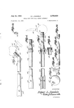 Patent US2756620 - Metal body work ball hammer assembly - Google Patents