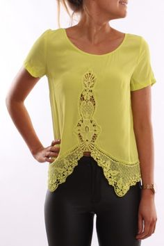 Dainty Top Lime