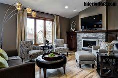 Contemporary Split Level Remodel - Living Room InteriorNo3.com
