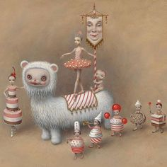 "Work by @markryden for the costumes and sets he is designing for the @abtofficial production ""Whipped Cream"" which opens at @segerstromarts on March 15!!  via BEAUTIFUL BIZARRE MAGAZINE OFFICIAL INSTAGRAM - Celebrity  Fashion  Haute Couture  Advertising  Culture  Beauty  Editorial Photography  Magazine Covers  Supermodels  Runway Models"