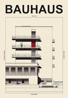 Architecture Bauhaus, Architecture Panel, Architecture Design, Landscape Architecture, Drawing Architecture, Architecture Portfolio, Classical Architecture, Art Bauhaus, Design Bauhaus