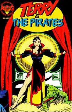 """Terry and the Pirates"" - Enter 'Dragon Lady' Female Dragon, Dragon Lady, Three Rivers Stadium, Milton Caniff, The Pirates, Charlton Comics, Rian Johnson, Arch Enemy, Fantasy Comics"