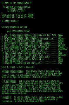 GEnie scrollback, Feb 1993 Hacker Wallpaper, Dark Wallpaper, Computer Wallpaper, Iphone Wallpaper, Collage Background, Wall Collage, Technology Wallpaper, Scientific Method, Color Themes