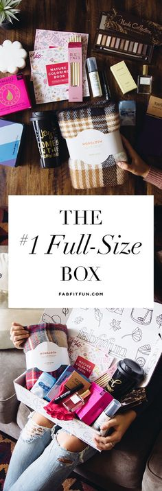 Have you tried the FabFitFun box? It's like a big surprise gift delivered to your doorstep each season. The box is stacked with premium, full-size beauty, fashion, and fitness products. See why we're the #1 full-size box! Use code AUTUMN to get your first box for just $39.99! That's $250 of glam goodies for just $39.99!