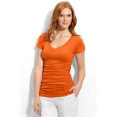 10 Garments Every Short Woman Needs: V-Neck Tank or T-Shirt