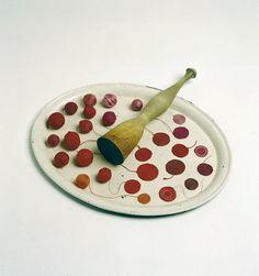 Anu Tuominen: lingonberries-the idea of a masher, 2001 Environmental Art, Recycled Art, Conceptual Art, Textile Art, Fiber Art, Sculpture Art, Modern Art, Art Pieces, Creations