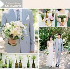Beautiful; natural. Courtesy of Grey Likes Weddings.
