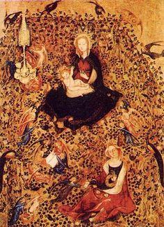 c91-Stefano da Verona (Virgen del Rosal) (Gótico Internacion