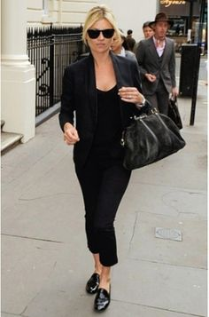 black oxfords outfit - Google Search