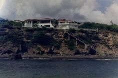 My family's summer home which was on the Caribbean island of Montserrat. It was destroyed when the volcano erupted and took out the entire island. We have recently decided to rebuild it on St. Thomas