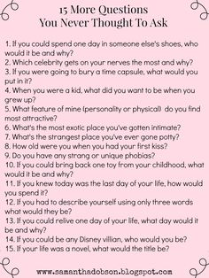 One of my most popular pins on Pinterest has been my 20 Questions Date Night post. First off, I love to see one of my posts making the rounds on Pinterest, or anywhere for that matter. Second, it g…