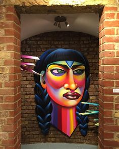 Work by @shalakattack at @bsmtspace with @brunosmoky  @clandestinosart  #shalakattack #clandestinosart