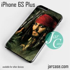 jack sparrow pirates of the caribbean 10 Phone case for iPhone 6S Plus and other devices