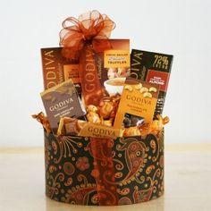 usa Gift Baskets - Godiva Autumn Delights