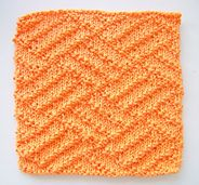 Ravelry: Kitchen Dishcloth ~ Parquet pattern by Joan Laws