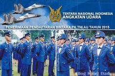 Penerimaan Pendaftaran Bintara PK TNI AU Tahun 2015
