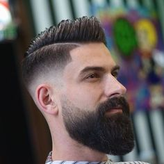 69 Trendy Beard Style For Round Face Men you Must Try Faded Beard Styles, Beard And Mustache Styles, Long Beard Styles, Beard No Mustache, Hair And Beard Styles, Short Hair Styles, Modern Beard Styles, Bald With Beard, Beard Fade