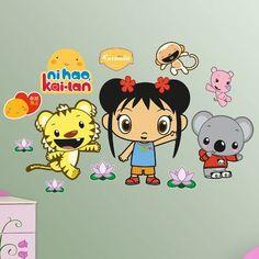 Fathead Disney Kai-Lan Rintoo and Tolee Wall Decal