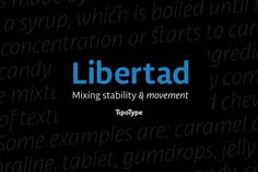 Libertad by TipoType on Creative Market