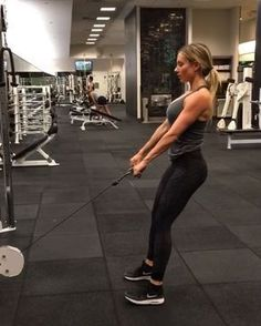 Cable Machine Deadlifts - 15 reps SS after Stiff-legged Barbel Deadlifts 15 reps - For my full workout routine, click the link in my bio ⬇️⬇️⬇️ Cable Machine Workout, Cable Workout, Butt Workout, Glute Workouts, Fitness Motivation, Fitness Tips, Fitness Plan, Fitness Quotes, Motivation Quotes