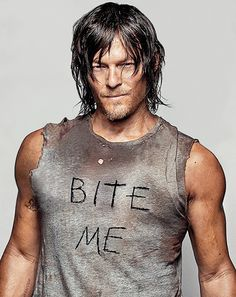 Loe walking dead and btw MMMMM.... he hot