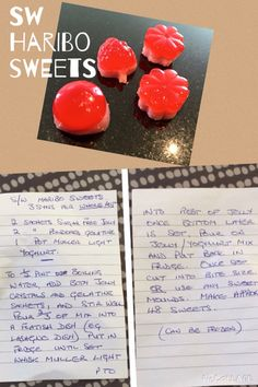 Sw haribo sweets
