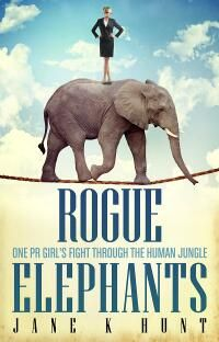 Rogue Elephants designed by Damonza.  JF: Damonza pulls out a beautifully composed, informative, and memorable cover as easily as an elephant walking a tightrope… ★