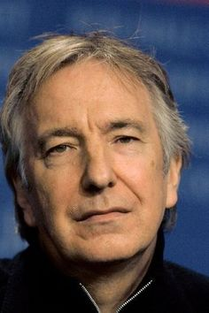 "2006 - Alan Rickman at the Berlinale Film Festival during which was the premier of ""Snow Cake."""