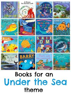 Under the sea picture books.