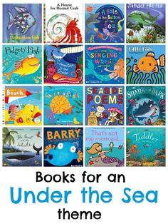under the sea books main