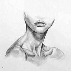 Dark Art Drawings, Art Drawings Sketches Simple, Pencil Art Drawings, Realistic Drawings, Art Sketches, Portrait Sketches, Arte Sketchbook, Anatomy Art, Drawing People