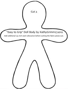 Crafty image with dammit doll printable pattern