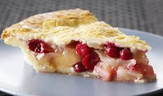 Flourless Pear & Cranberry Pie : Bake with Anna Olson : The Home Channel