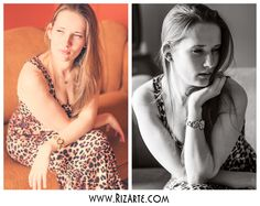 Two looks, two styles...  www.RizArte.com