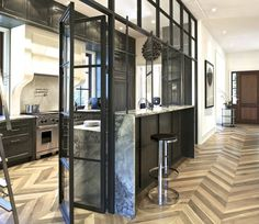 Fabulous Room Friday 01.16.15   La Dolce Vita creative solution to a too-open floor plan