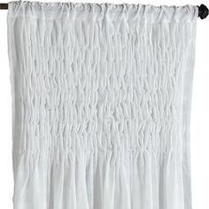 "Magnolia Smocked Curtain - 84"""