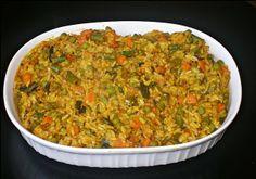 Indian Vegetable Khichdi: Easy Vegetarian Recipes