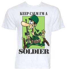 94394db1e Details about MENS FUNNY COOL NOVELTY JOKE SOLDIER ARMY SLOGAN T-SHIRTS  GIFTS PRESENTS IDEAS