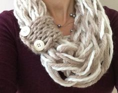 Women's handmade infinity scarf/cowl. Autumn by TheScarfRoom
