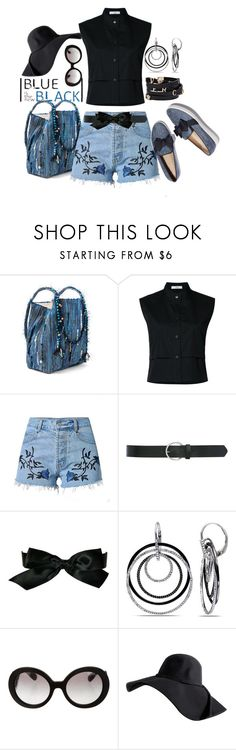 """Untitled #1029"" by saritanwa ❤ liked on Polyvore featuring Ancient Greek Sandals, Tome, M&Co, Chanel, Ice, Versace and Prada"