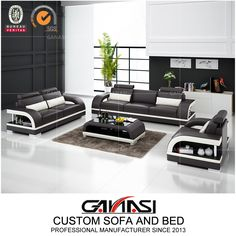 Best Quality Italian Latest Design Leather Home Sectional Furniture, Moden Sofa, Living Room Furniture,Model NO.:G8011D, Back Height:Medium Back, Certification:CARB, Fire Retardant Standard:BS 5852, Material:Genuine Leather, Inflatable:Non Inflatable, Condition:New, MOQ:1 Set, Delivery:Within 7-15 Days Prompt Delivery, Warranty:2 Years Warranty, Washable:Non Washable, Custom Made:Custom Size, Color, Shape etc, Color Choices:up to 40 Color Options, Trademark:GANASI, Transport Package:Untra… Modern Leather Sofa, Leather Sofa Set, Leather Sectional, Modern Sofa, Sectional Furniture, Sectional Sofa, Furniture Sets, Couch, Modular Office