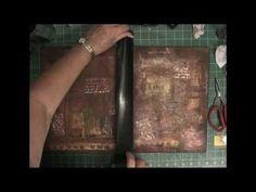 Portfolio binder in the making - Part 6