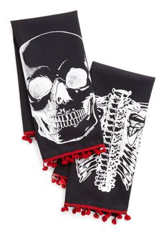Bad to the Bone Dry Tea Towel Set