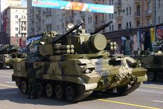 "9K22 ""Tunguska-M"" Gun/Missile Air Defence System (Russia)"
