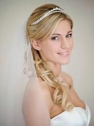 Over the shoulder curls is what I'm thinking for wedding day hair.