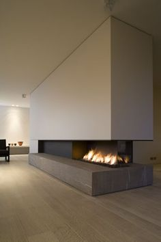 1000 images about zitkuil haard on pinterest modern fireplaces fireplace design and gas - Deco moderne open haard ...