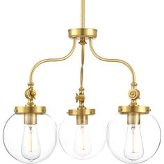 You'll love the Penn 3 Light Chandelier at Wayfair - Great Deals on all Lighting  products with Free Shipping on most stuff, even the big stuff.