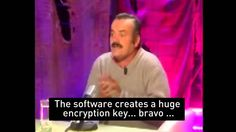 Funniest mobile security expert ever. And the laugh is hilarious...